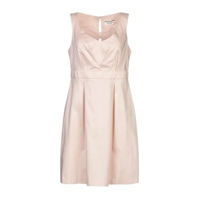 NAF NAF ミニワンピース&ドレス ベージュ 42 コットン 97% / ポリウレタン 3% ミニワンピース&ドレス