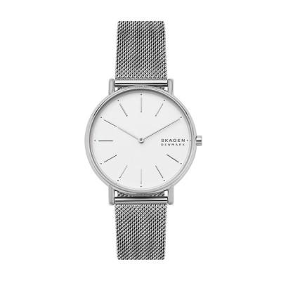 スカーゲン SKAGEN 国内正規品 SIGNATUR シグネチャー ユニセックス メンズ レディース 腕時計 ホワイト シルバー J-SKW2785 SKW2785