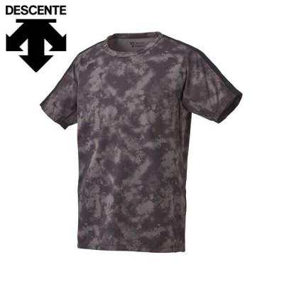 セール DESCENTE デサントサンスクリーン Tシャツ メンズ Tシャツ 20 春夏DMMPJA04Z-BK