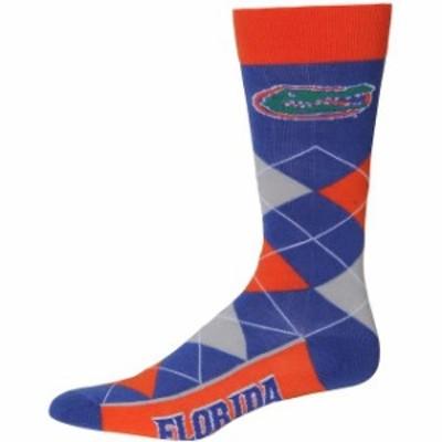 For Bare Feet フォー ベア フィート スポーツ用品  For Bare Feet Florida Gators Argyle Crew Socks