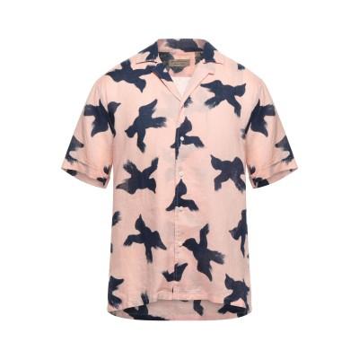 BURBERRY シャツ ピンク L リネン 100% シャツ