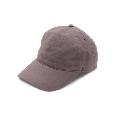 Mila Owen / リネンバックル付きキャップ WOMEN 帽子 > キャップ