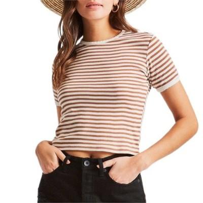 ブリクストン レディース Tシャツ トップス Brixton Raquel Ringer T-Shirt - Women's