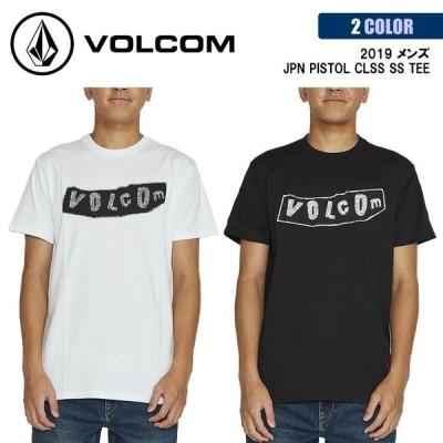 20 VOLCOM ボルコム Tシャツ JPN PISTOL CLSS SS TEE 半袖 コットン100% アジアンフィット メンズ 2020年春夏 品番 AF002003 日本正規品