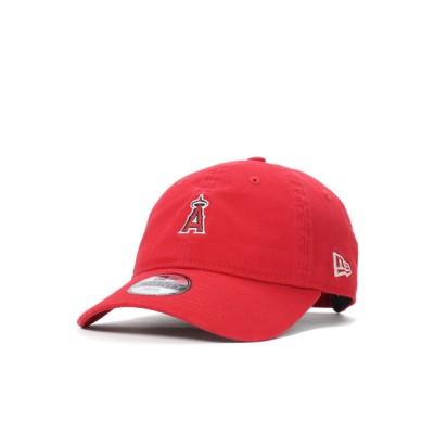 帽子屋ONSPOTZ / ニューエラ キッズ キャップ 9TWENTY ANGELS COLLECTION MLB ロサンゼルス エンゼルス オブ アナハイム スカーレット NEW ERA YOUTH 帽子 KIDS 帽子 > キャップ