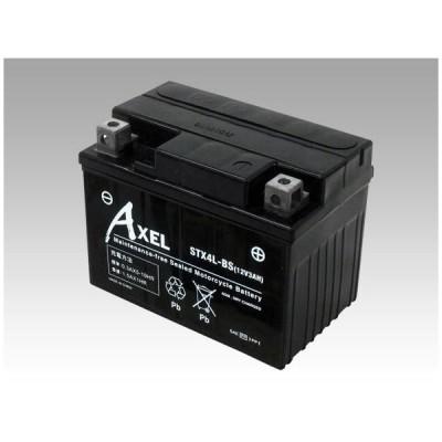 G&YU ジーアンドユー バイク用AXELバッテリー STX4L-BS