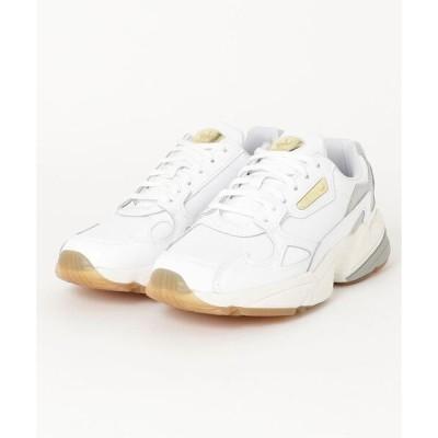 スニーカー adidas アディダス アディダスファルコン W ADIDASFLCN W (FOOTWEAR WHITE/OFF WHITE/GUM)