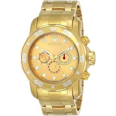 Invicta Men's 15046 Pro Diver Analog Display Swiss Quartz Gold Watch