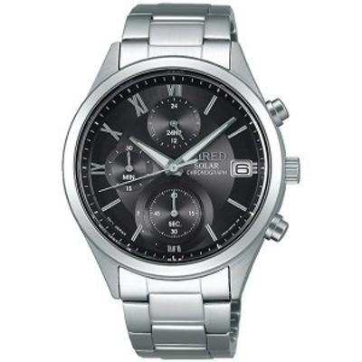 WIRED ワイアード 腕時計 SEIKO セイコー AGAD098 メンズ PAIR STYLE ペアウオッチ クロノグラフ ソーラー (レディースはAGED105)