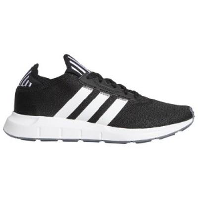 アディダス レディース スニーカー シューズ adidas Originals Swift Run Black/White