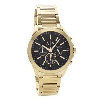 アルマーニエクスチェンジ メンズ クロノ 45mm  ブラック文字盤 ゴールド AX2611 腕時計