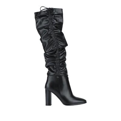 LAURA BIAGIOTTI ブーツ ブラック 36 紡績繊維 ブーツ