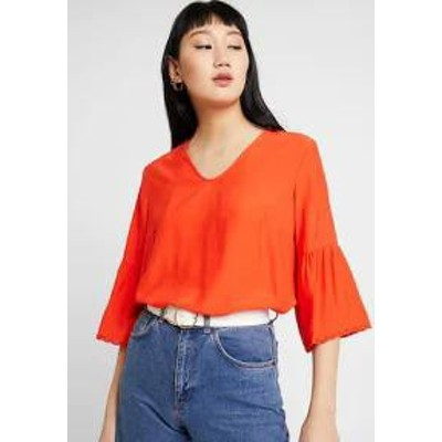 byoung レディースブラウス byoung BLOUSE - Blouse - spicy red spicy red