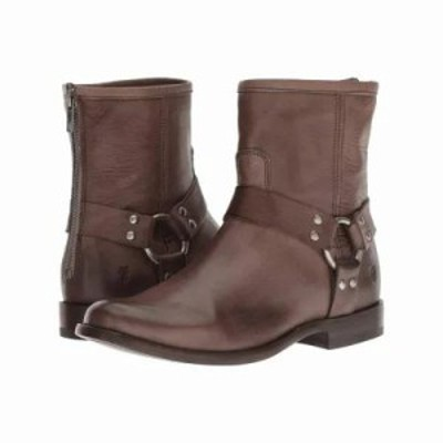 フライ ブーツ Phillip Harness Short Grey Soft Vintage Leather