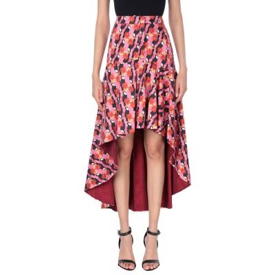 ピンコ PINKO ひざ丈スカート ピンク 40 コットン 68% / ポリエステル 29% / ポリウレタン 3% ひざ丈スカート