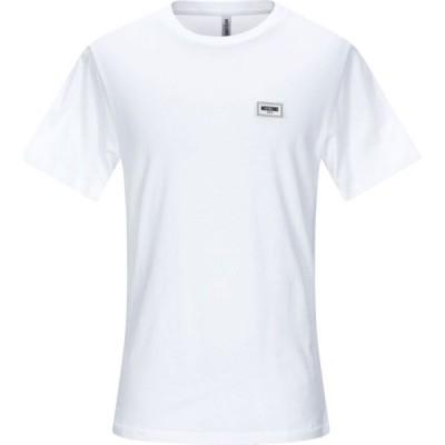 モスキーノ MOSCHINO メンズ Tシャツ トップス t-shirt White