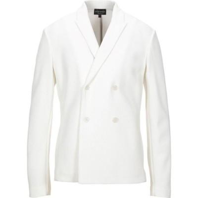 アルマーニ EMPORIO ARMANI メンズ スーツ・ジャケット アウター blazer White