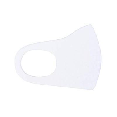 5枚セット ストレッチマスク [ホワイト(子供サイズ)] 洗える 在庫あり 子供用 キッズ 立体 ウレタン 抗菌性 速乾性 通気性 伸縮性 軽量 予防