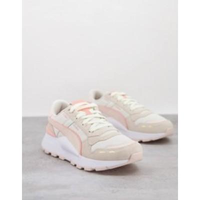 プーマ レディース スニーカー シューズ Puma RS 2.0 Sneakers in cream and pink Cream