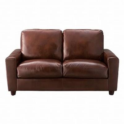 ソファー クラフト 2人掛け ( 送料無料 チェア 椅子 二人掛け ラブチェア ソファ ビンテージ家具 レザー調 革 ミッドセンチュリ