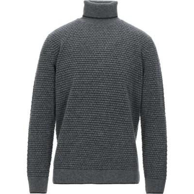カングラ カシミア KANGRA CASHMERE メンズ ニット・セーター トップス turtleneck Grey