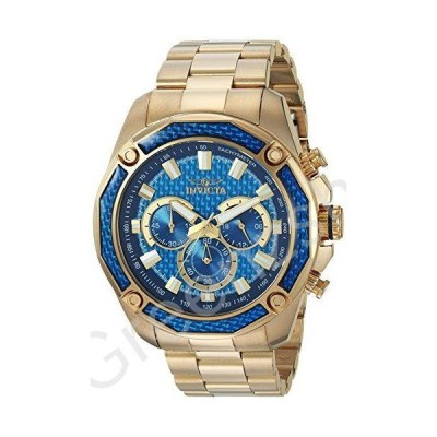 Invicta Men's 'Aviator' Quartz and Stainless Steel Casual Watch%カンマ% Color:Gold-Toned (Model: 22805)【並行輸入品】