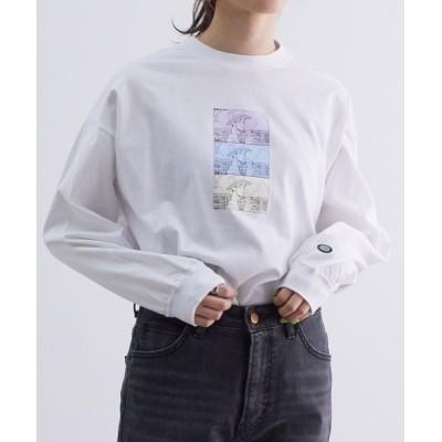 ViS / 【ともわかコラボ】【WEB限定】天竺BIGロングTシャツ WOMEN トップス > Tシャツ/カットソー