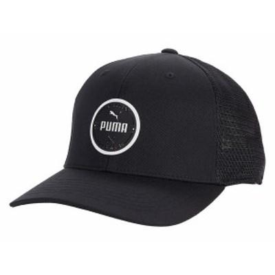 プーマ メンズ 帽子 アクセサリー Wear Circle Patch PUMA Black