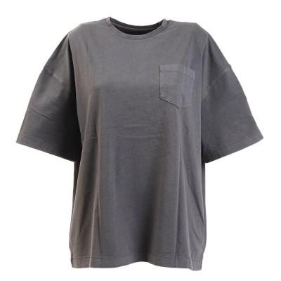 エルケクスウェアTシャツ 半袖 G/DYE WIDE BP 882EK0UK3234DGRYダークグレー