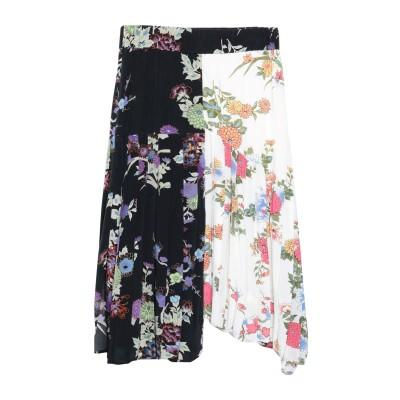 イザベル マラン ISABEL MARANT 7分丈スカート ホワイト 40 シルク 100% 7分丈スカート