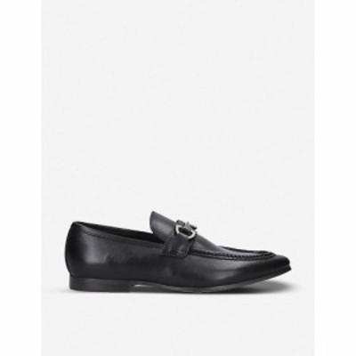 アルド ALDO メンズ ローファー シューズ・靴 Daywen buckle-embellished leather loafers BLACK