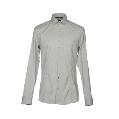 パトリツィア ペペ PATRIZIA PEPE シャツ ライトグレー 48 コットン 70% / ナイロン 27% / ポリウレタン 3% シャツ