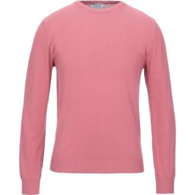ヘリテイジ HERITAGE メンズ ニット・セーター トップス sweater Pastel pink