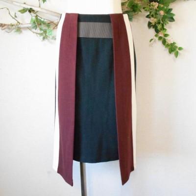 ティティレイトバレット Titilate Valet 秋冬 向き 巻き 風の お洒落 な スカート 日本製 38