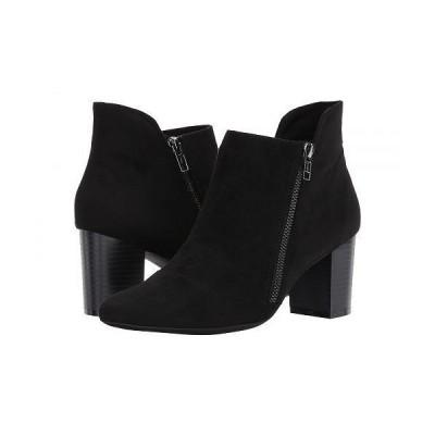 Rockport ロックポート レディース 女性用 シューズ 靴 ブーツ アンクル ショートブーツ Gail Zip Bootie - Black Microsuede