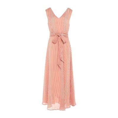 アノニム デザイナーズ ANONYME DESIGNERS ロングワンピース&ドレス レンガ XL ポリエステル 100% ロングワンピース&ドレス