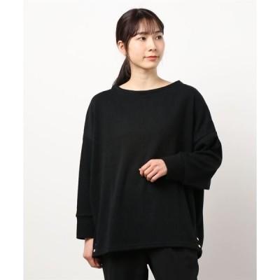 tシャツ Tシャツ ボートネックドルマンスリーブプルオーバー