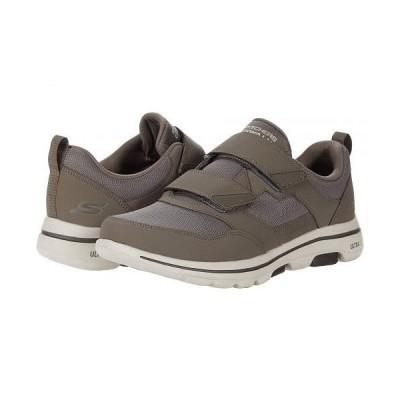 SKECHERS Performance スケッチャーズ メンズ 男性用 シューズ 靴 スニーカー 運動靴 Go Walk 5 - Wistful - Khaki