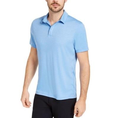 アルファニ ポロシャツ トップス メンズ Men's AlfaTech Stretch Solid Polo Shirt, Created for Macy's Regatta Blue