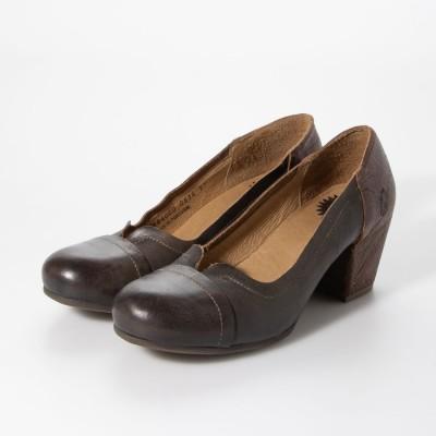 ヨーロッパコンフォートシューズ EU Comfort Shoes FLYLONDON パンプス (グリーン)