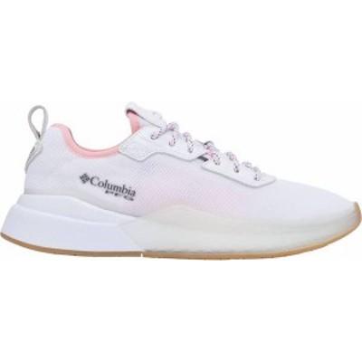 コロンビア レディース スニーカー シューズ Columbia Women's Low Drag PFG Casual Shoes White/Rosewater