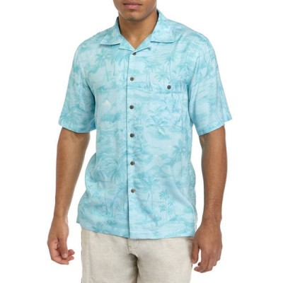 サドルブレッド メンズ シャツ トップス Rayon Camp Shirt