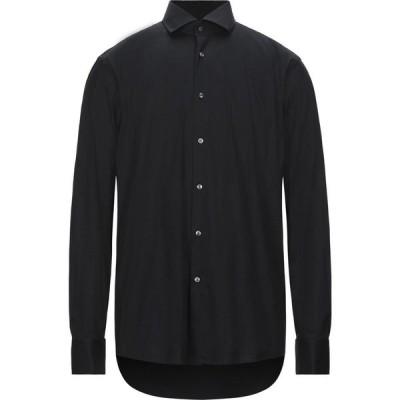 ヒューゴ ボス BOSS HUGO BOSS メンズ シャツ トップス Solid Color Shirt Black