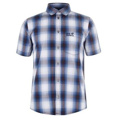 ジャックウルフスキン Jack Wolfskin メンズ シャツ トップス Wolfskin Hot Chilli T Shirt Night Blue