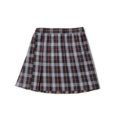 【スクール】チェックプリーツスカート