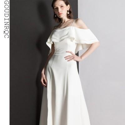 パーティードレス 安い 可愛い おしゃれ キャミソール ロングドレス ロング丈 クラシカル イブニングドレス