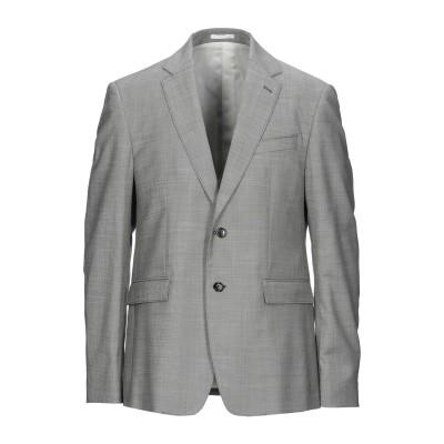 マウロ グリフォーニ MAURO GRIFONI テーラードジャケット ブラック 52 バージンウール 99% / ポリウレタン 1% テーラードジ