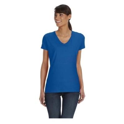 レディース 衣類 トップス Fruit Of The Loom Women's Side Seamed Shoulder Taping T-Shirt Style L39VR Tシャツ