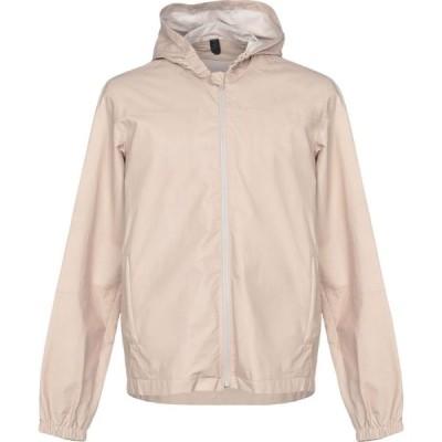 RVL メンズ レザージャケット アウター Leather Jacket Beige