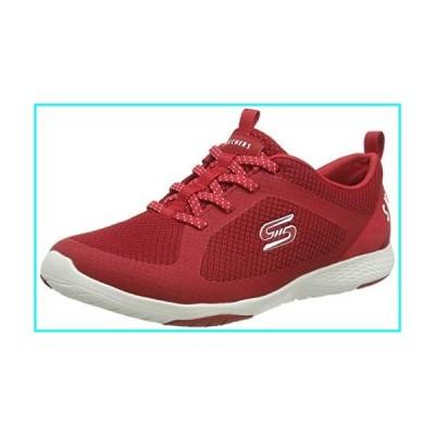 Skechers レディース ファッションスニーカー US サイズ: 10 カラー: レッド